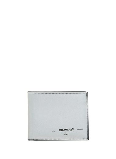 Off-White Cüzdan Gümüş